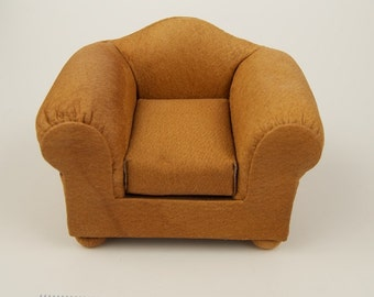 SALE WAS 87 Upholstered Doll House Chair