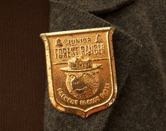 SALE WAS 75 Vintage Junior Forest Ranger Badge