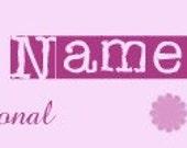 Basic Shop Banner - Pink Flowers