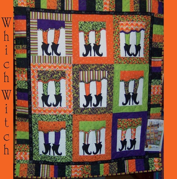 Items Similar To Which Witch Quilt Pattern On Etsy