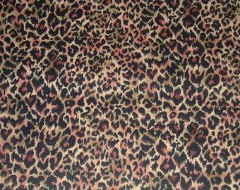 Wild Animal CHEETAH print Cotton Fabric by the Yard