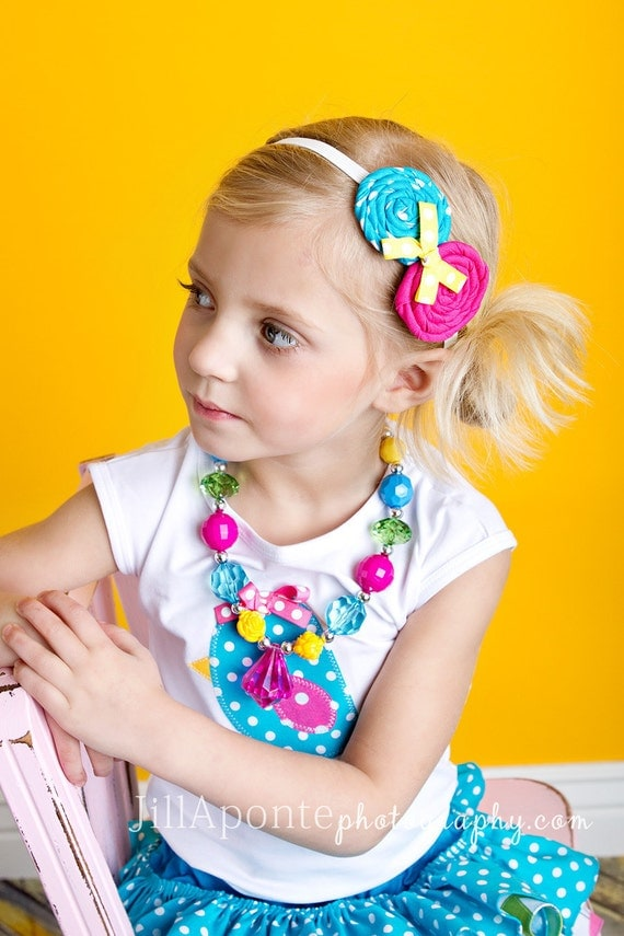 M2M Happy Birds by Amy's Buttons & Bows Chunky Necklace for Little Girls