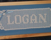 VIctorian Crochet Name Doily For Lorraine Styles Only!