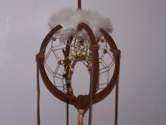Double ring dream catcher by moontogo on etsy for How to make a double ring dreamcatcher