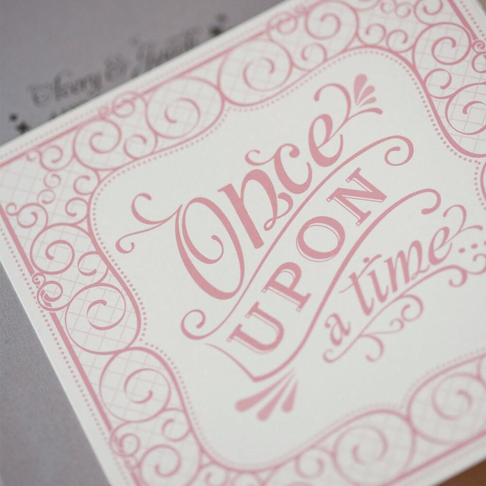 storybook wedding invitation whimsical by jensimpsondesign on etsy, Wedding invitations