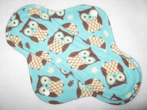 Waterproof menstrual pad 10 inch with pul