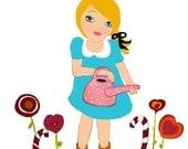 Little gardener- reserved version for silverdollarmoon