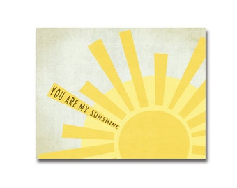 11x14 Simple Sunshine - Digital Art Printable (300dpi .JPG to Print On Your Own) - Instant Download