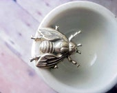 House Fly Ring - Insect Adjustable - under 15 - free shipping - stocking stuffer