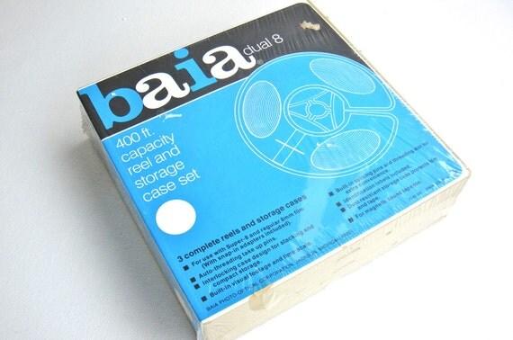 Vintage BAIA Dual 8 Movie Reels - New, Unopened Set of Three