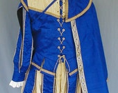 MADE TO ORDER Mens Renaissance Elizabethan Court Suit Costume - 5 Pieces