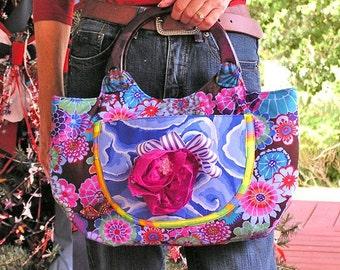Hand bag- RHAPSODY in BLUE