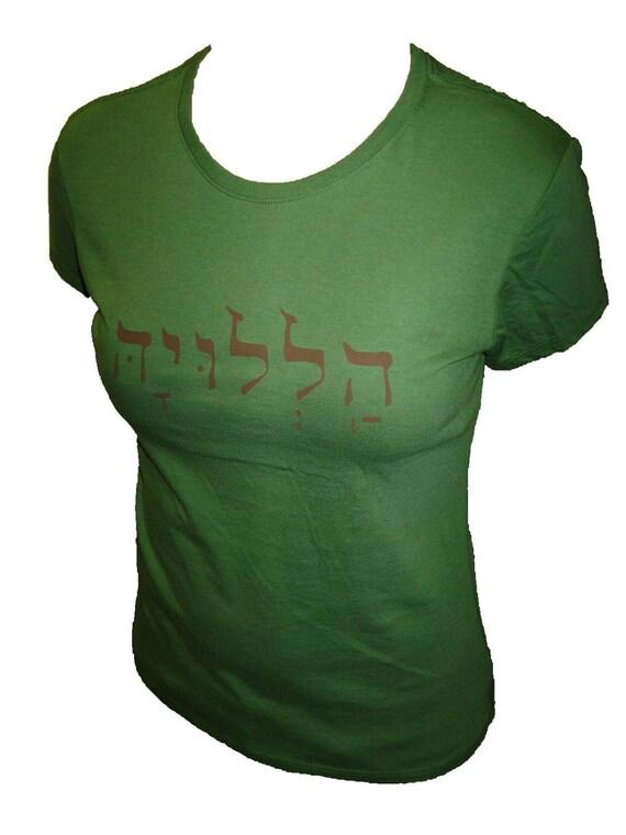 HALLELUJAH Organic Women's T-Shirt