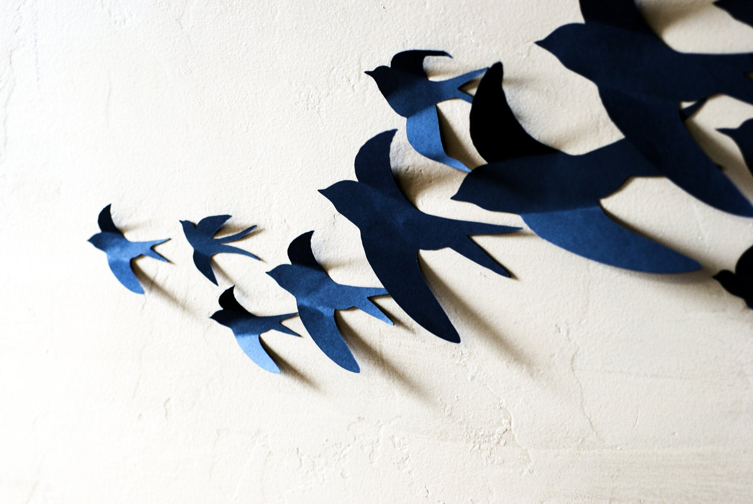 3d bird wall art home decor set of 12 living room bedroom