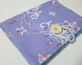 Lilac chandelier - Passport Cover passport holder passport case