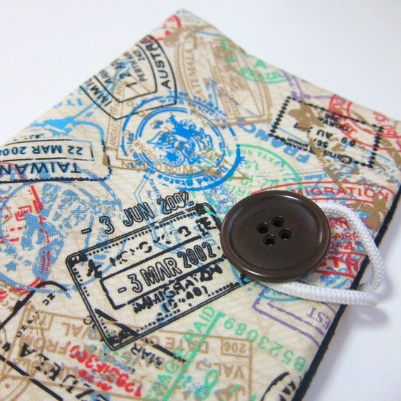 NEW World travel stamps - Passport Cover passport holder passport case