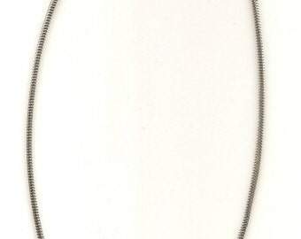 18 inch 3mm Snake Chain Necklace, Sterling Silver, Lobster Clasp