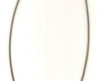 Sterling Silver 3mm Snake Chain 18 inch Necklace for Charm Beads