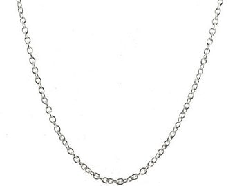 5 Sterling Silver 2mm Rolo Belcher Chains 24 inch 60 cm