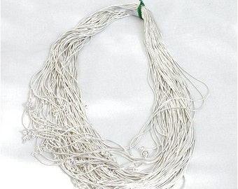 6 sterling silver 18 inch snake chains 1mm solid 925