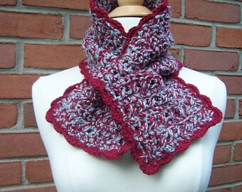 Keyhole Scarf, 100% Organic Cotton, Many Colors Available, Organic Scarf, Earth-friendly, Eco Fashion
