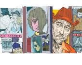 Owen Sherwood print - Bob Dylan
