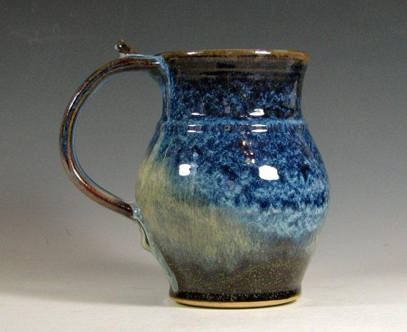 Sale Coffee Mug Ceramic Extra Large Cup Tea Glazed In Brown