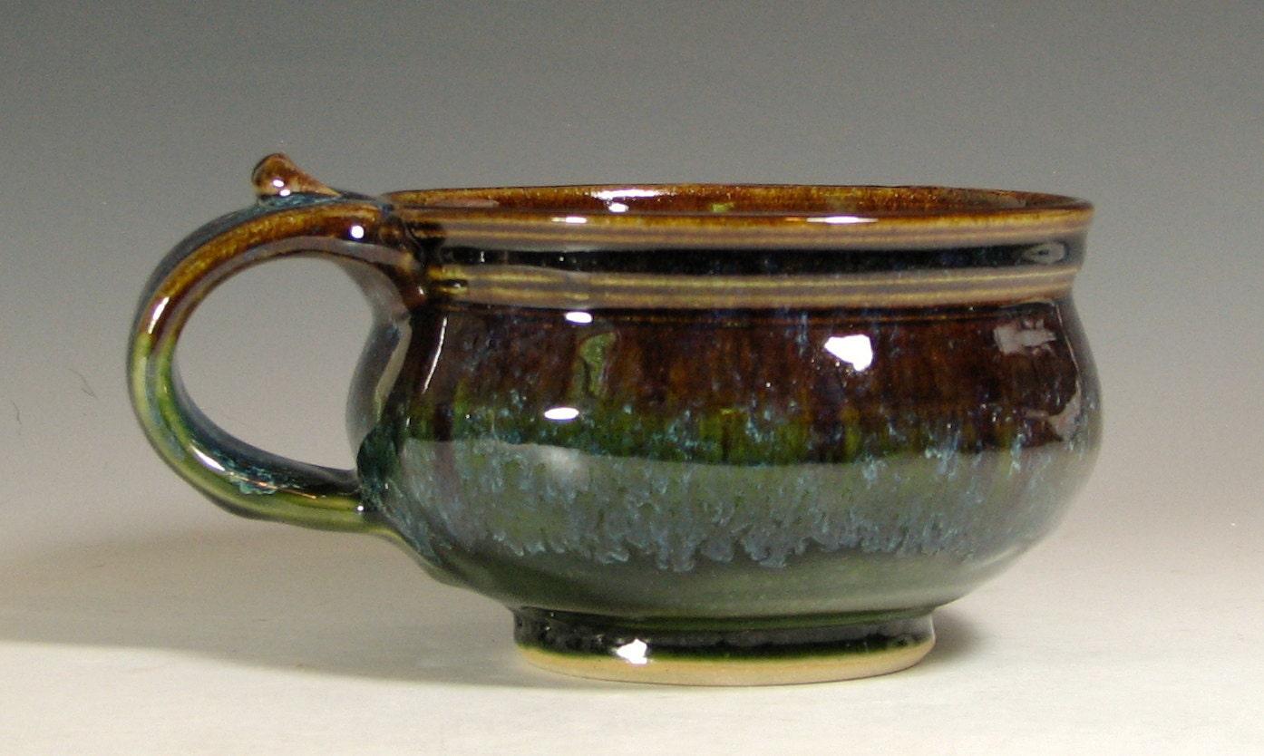 Soup Mug Ceramic Handled Bowl Cappuccino Chili Onion Soup