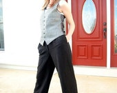 SALE AKA Eddie Bauer Black wool dress pants