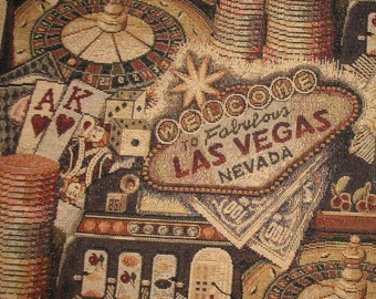 Welcome To Las Vegas Tapestry Bean Bag Chair Cover (Made to Order) Note Special Details - Bean Bag Chair, Bean Bag Chair Cover