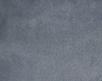 Dark Corn Blue Faux Suede  Fabric  (1 YD)  Home Decorating Faux Suede Fabric, Home Decor Fabric, Blue Faux Suede