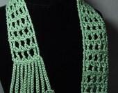 Y stitch scarf