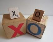 Hugs and Kisses - XO - Cufflinks New Stock Scrabble Tiles