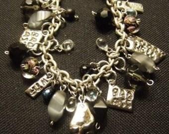 Bad Attitude Charm Bracelet