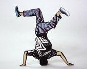 Break Dance Cosby Sweater (paper sculpture 13)