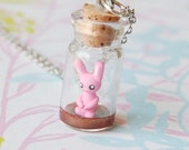 SALE - Tiny Bunny In a Bottle - SKU1024