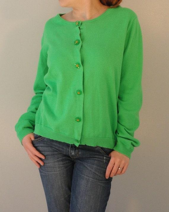 Kelly Green Sweater