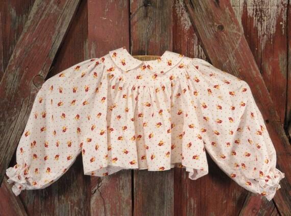 Ladybug Ladybug Fly Away Home Vintage Childrens Shirt Top 1960s 1970s