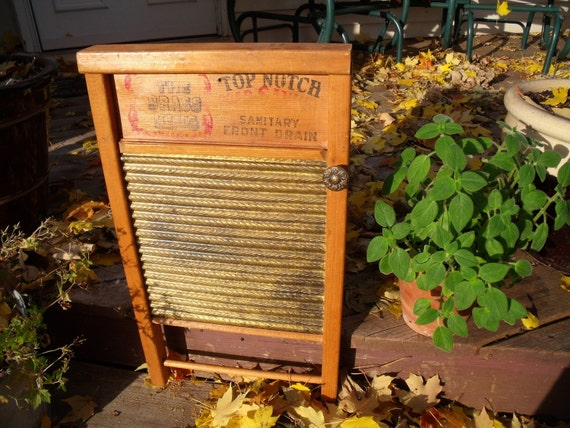 vinTage anTique PRIMITIVE WASHBOARD recycled inTo a WaLL CABINET-Ugot2C