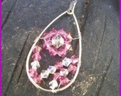 Pink Crystal Pendant (reserved)