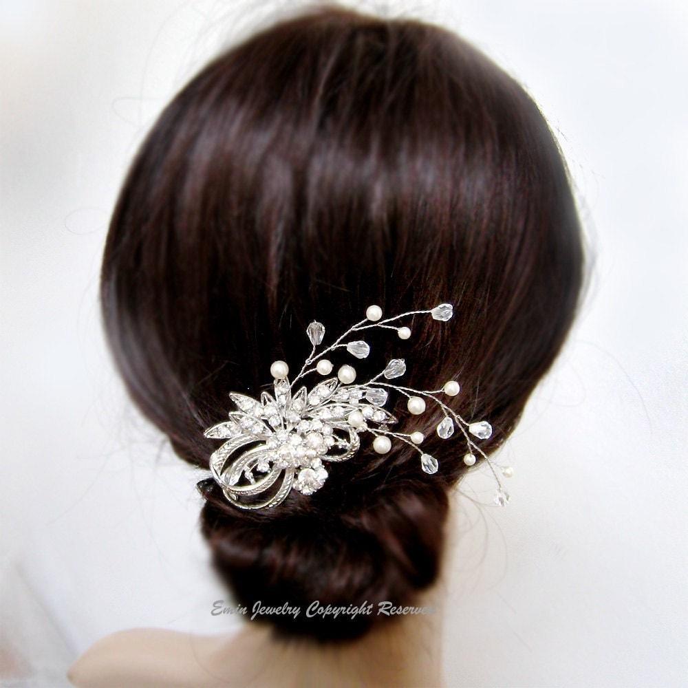 Wedding Hair Accessories Vintage Bridal Hair Combs. Bridal