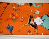 Alexander Henry Orange Witch Fabric