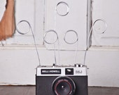 Upcycled Bell and Howell 35J Camera Wire Photo Holder