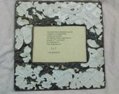 AUTHENTIC Vintage Reclaimed Tin Ceiling Picture Frame CHIC Photo 5 x 7  S23562