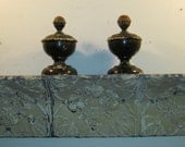3 FT.- Shabby Salvaged Tin SHELF/Mantle Wall Mount ChicRecycled S-271