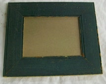 SHABBY ARCHITECTURAL SALVAGED Recycled Wood PHOTO Picture Frame VINTAGE S24525