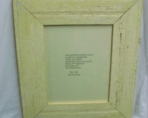SHABBY Architectural Salvaged Recycled Wood PHOTO Picture Frame VINTAGE S1559