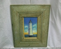 SHABBY Architectural Salvaged Recycled Wood PHOTO Picture Frame VINTAGE S1613