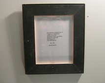 SHABBY ARCHITECTURAL SALVAGED Recycled Wood 8 X 10 Picture Frame S- 277-12