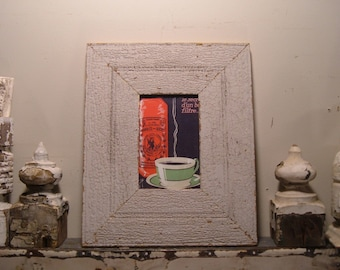 RECLAIMED WOOD Picture Frame 4x6 Shabby Recycled chic s1958 From RecycledRelics